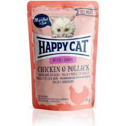 Happy Cat All Meat Kitten kura a treska 85 g