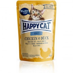 Happy Cat All Meat Adult kura a kačica 85 g