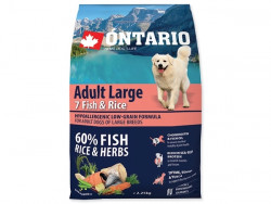 ONTARIO Adult Large 7 Fish and Rice - 2,25kg