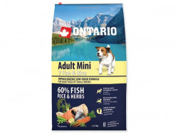 ONTARIO Adult Mini 7 Fish and Rice - 6,5kg