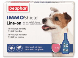 Beaphar Immo Shield Line - on Pipety pre malé psy (3x1,5ml)