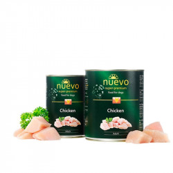 NUEVO dog Adult Chicken Menue konzerva - 400g