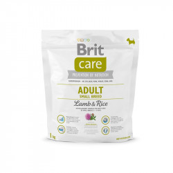 Brit Care Adult Small Breed Lamb & Rice - 1 kg